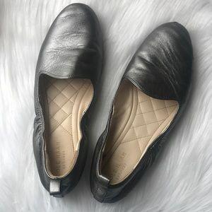 Cole Haan Metallic Ballet Flats
